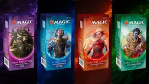 Magic The Gathering – Challenger Decks 2020: Cosa sono e dove comprarli